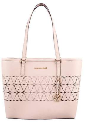 MICHAEL Michael Kors Medium Jet Set Travel Carryall Tote
