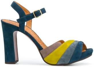 Chie Mihara colour-block open-toe sandals