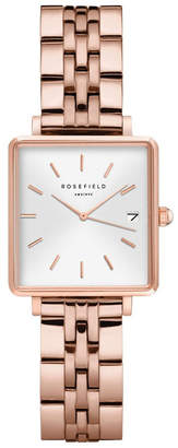 Rosegold QMWSR-Q022 The Mini Boxy White Sunray Steel