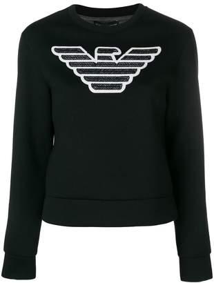Emporio Armani logo design sweatshirt