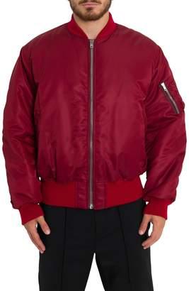 Calvin Klein Rear Embroidery Bomber Jacket