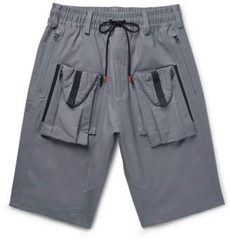 Nike Acg Deploy Cargo Wide-Leg Stretch-Cotton Shorts