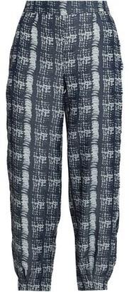 Amanda Wakeley Jacquard Tapered Pants