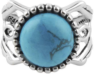Artsmith BY BARSE Art Smith by BARSE Genuine Turquoise Silver Over Brass Ring