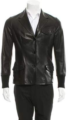 Hermes Tailored Leather Jacket