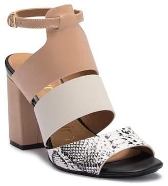 Calvin Klein Caran Mamba Block Heel Sandal