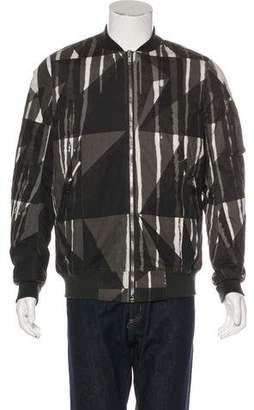 Rick Owens 2016 Printed Bomber Jacket w/ Tags