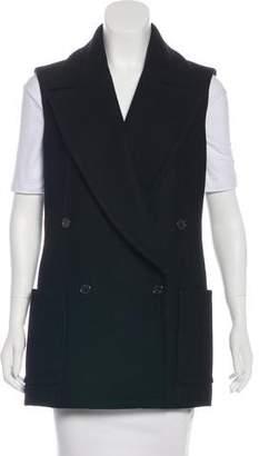 Michael Kors Longline Wool Vest