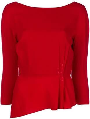 Lanvin peplum blouse