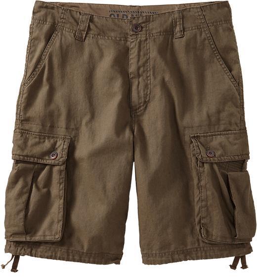 "Old Navy Men's Linen-Blend Cargo Shorts (10 1/2"")"