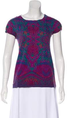 Marc by Marc Jacobs Printed Knit Top