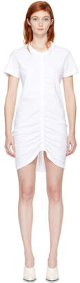 Alexander Wang White High Twist Dress