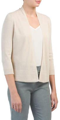 Three-quarter Sleeve Cover-up Cardigan