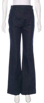 Rachel Comey High-Rise Flared Jeans w/ Tags
