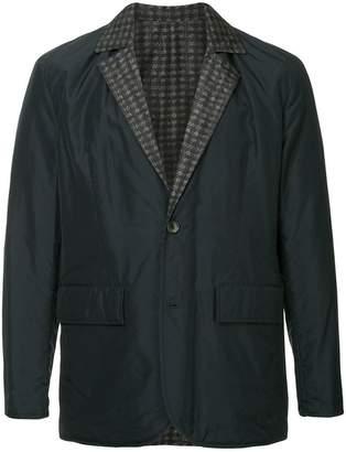 Cerruti checked lining blazer