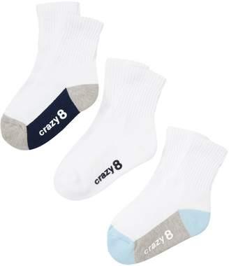 Crazy 8 Crazy8 Athletic Sock 3-Pack