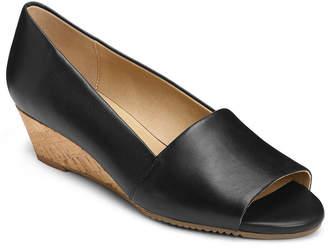 Aerosoles Application Peep Toe Wedges Women Shoes