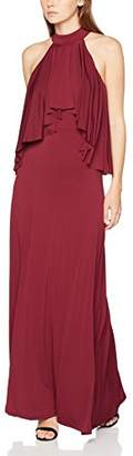 Yumi Women's Soft Ruffle Maxi Dress