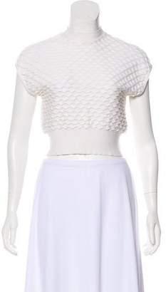 3.1 Phillip Lim Short Sleeve Textured Sweater