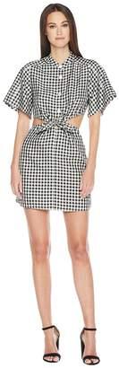 Sonia Rykiel Vichy Tie Front Dress Women's Dress
