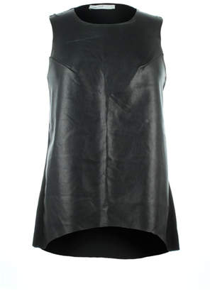 Bishop + Young Paulina Faux Leather Front Tank