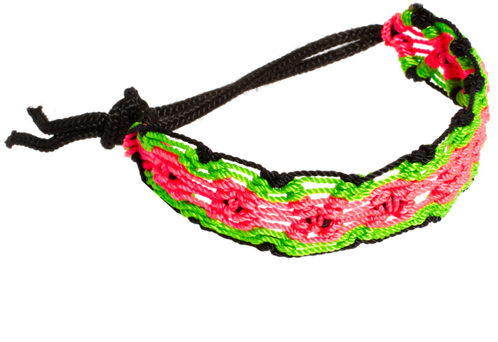ASOS Neon Criss Cross Friendship Band