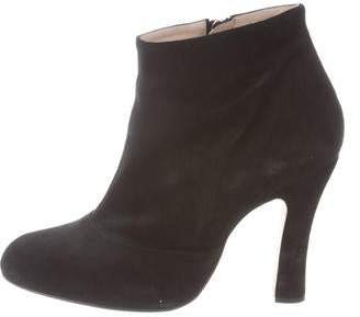 Marc Jacobs Round-Toe Ankle Boots