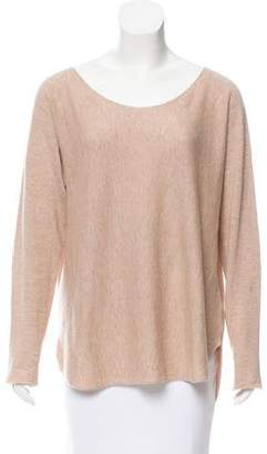 Vince Oversize Wool & Cashmere-Blend Top