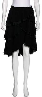 Marc by Marc Jacobs Ruffled Knee-Length Skirt