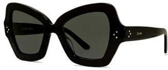 Celine Chunky Butterfly Acetate Sunglasses