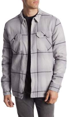 Quiksilver Cypress Road Plaid Shirt Jacket