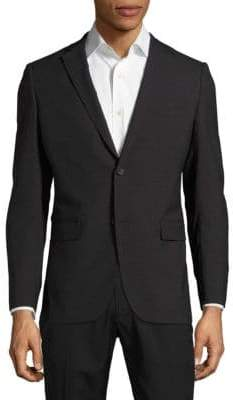 Theory Textured Notch-Lapel Jacket
