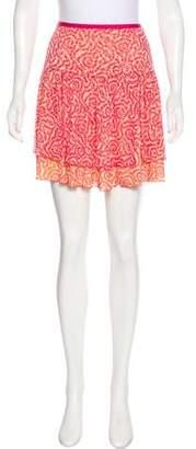Diane von Furstenberg Silk Pompei Skirt