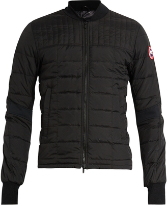 CANADA GOOSE Dunham down-filled jacket $442 thestylecure.com