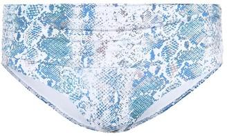 Melissa Odabash Bel Air snake print bikini bottoms