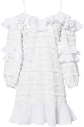 Alexis Calypso Ruffle Mini Dress