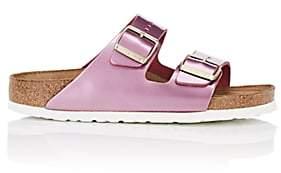 Birkenstock Women's Arizona Patent Leather Double-Buckle Sandals-Pink