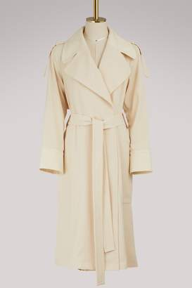 See by Chloe Long trench coat