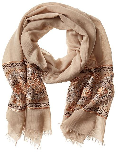 Banana Republic Heritage Embroidered Scarf