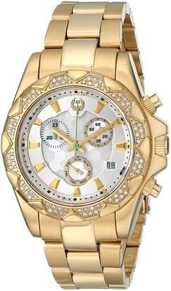 Brillier Women's 14-03 Analog Display Swiss Quartz Gold Watch