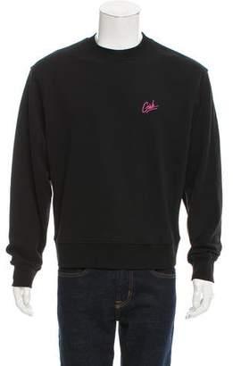Alexander Wang Crew Neck Embroidered Sweatshirt