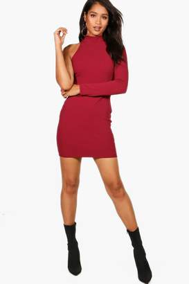boohoo Joanna One Shoulder Bodycon Dress