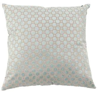 DecMode Decmode Modern 23 X 23 Inch White Throw Pillow With Geometric Patterns