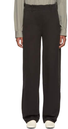 Lemaire Black Large Twisted Lounge Pants