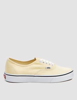 Vans Authentic in Yellow Custard