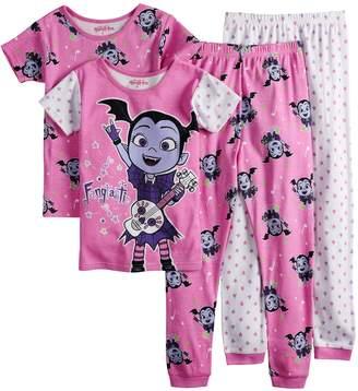 Disney Disney's Vampirina Girls 4-8 Tops & Bottoms Pajama Set