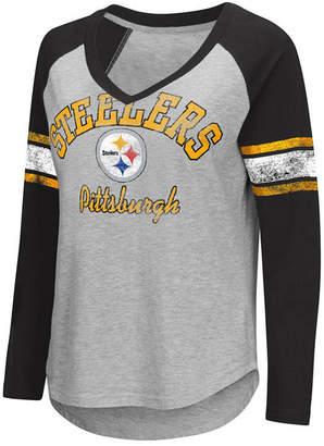 G-iii Sports Women's Pittsburgh Steelers Sideline Long Sleeve T-Shirt