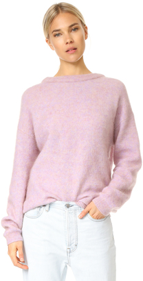 Acne Studios Dramatic Mohair Sweater $340 thestylecure.com