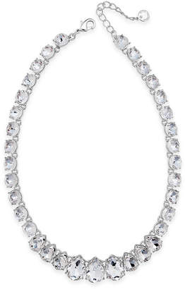 Charter Club Crystal Collar Necklace