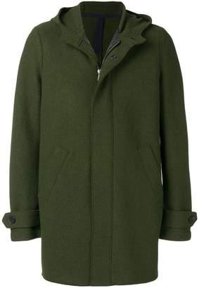 Harris Wharf London button down hooded coat